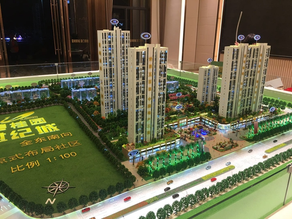 建筑模型的设施设置的目的是为了满足人民的需求