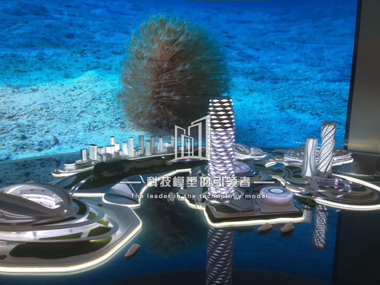 深圳前海规划模型